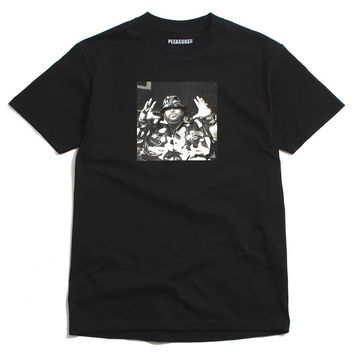 PLEASURES x Big Pun - Christopher T-Shirt Black