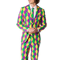 The Mardi Gras Party Suit