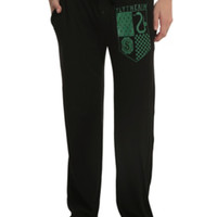 Harry Potter Slytherin Crest Guys Pajama Pants