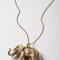 Brass Cirque Necklace