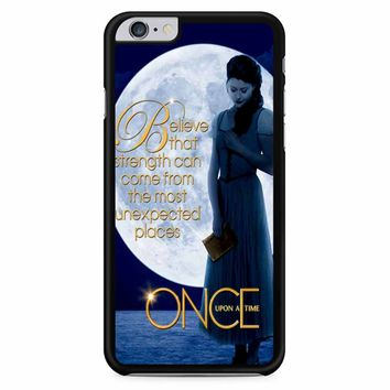 Once Upon A Time Belle Full Moon iPhone 6 Plus / 6S Plus Case