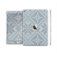The Knitted Snowflake Fabric Pattern Skin Set for the Apple iPad Air 2