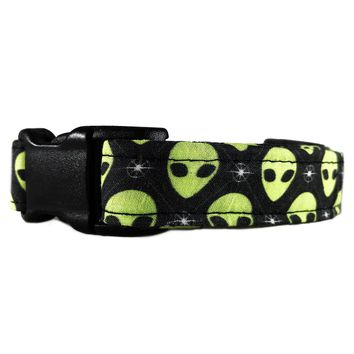 Green Martian Alien Collar