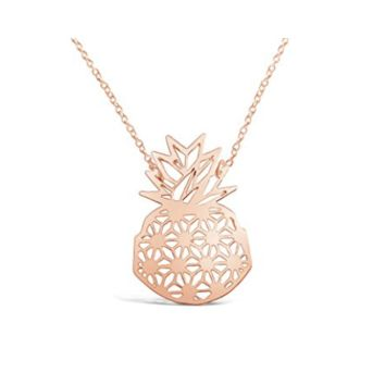 Pineapple Origami Necklace