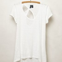 Slubby Cutout Tee by Left of Center