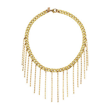 Vanessa Mooney The Sioux Choker Necklace Brass - Zappos.com Free Shipping BOTH Ways