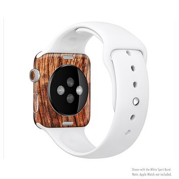 The Warped Wood Full-Body Skin Set for the Apple Watch