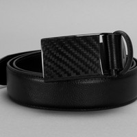 Carbon Design Metal-Free Belt with 100% Carbon Fiber Buckle