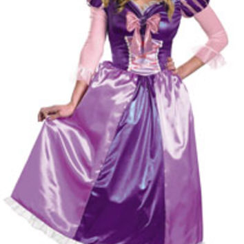 Plus Size Tangled Rapunzel Princess Costume - Princess Costumes