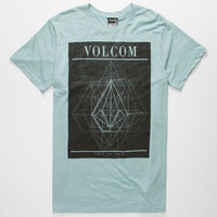 Volcom Unhinged Mens T-Shirt Light Blue  In Sizes