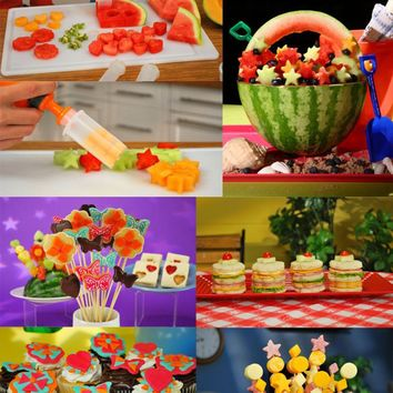 Useful Fruit Salad Carving Vegetable Fruit Arrangements Smoothie Cake Tools Kitchen Bar Cooking Accessories Supplies Products