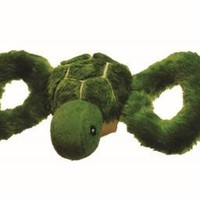 Jolly Pets Tug-a-Mals Turtle Dog Squeak Toy Sz: Sm