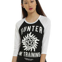 Supernatural Hunter In Training Girls Raglan
