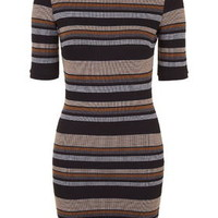 Stripe Mini Dress - Multi