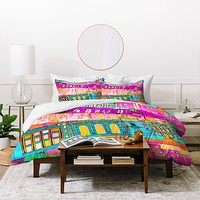 Aimee St Hill City Scape Duvet Cover
