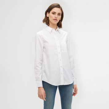 Classic Button-Up - White