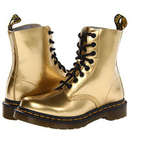 Dr. Martens Pascal 8-Eye Boot W Gold Spectra Patent - Zappos.com Free Shipping BOTH Ways