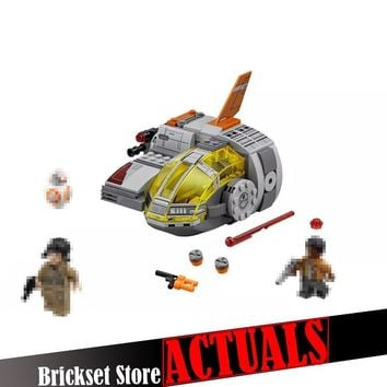 Star Wars Force Episode 1 2 3 4 5 LEPIN 05125 Resistance Transport Pod  Clone  Building Blocks Bricks Toys For Boys Compatible with legoINGly 75176 AT_72_6