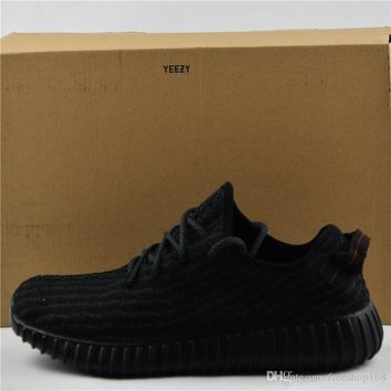 (With Box) Top Quality 2017 Adidas Best Yeezy 350 Boost Sneakers Training Shoes Kanye