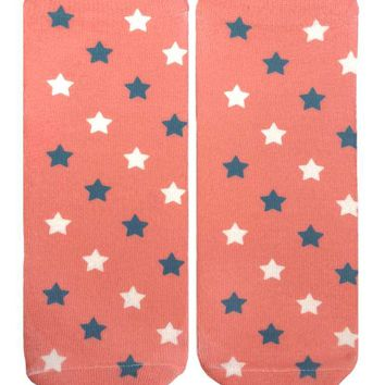 Faded Stars Ankle Socks