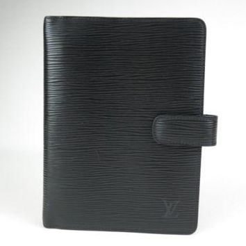 Authentic LOUIS VUITTON Agenda MM Day Planner Cover Monogram Vintage r395