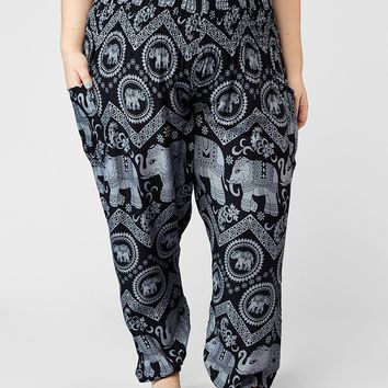 Raja Plus Size Harem Pants