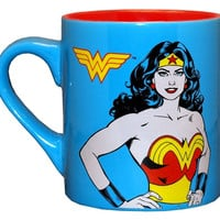 Wonder Woman Superhero Coffee Mug 14 oz.