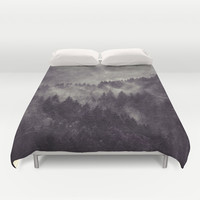 Excuse me, I'm lost Duvet Cover by Tordis Kayma