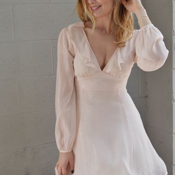 Starry Eyed Ruffle Dress
