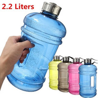 2.2L BPA Free Plastic Big Large Capacity Gym Sport Water Bottle Outdoor Picnic [9145122118]