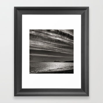 Gibraltar Framed Art Print by Guido Montañés