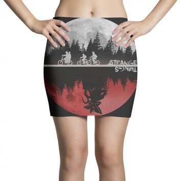 stranger things Mini Skirts