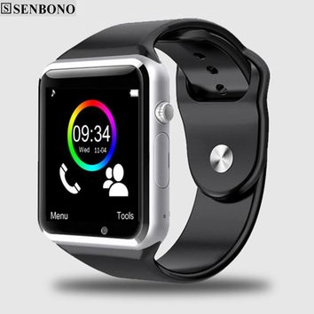 WristWatch Bluetooth Smart Watch Pedometer with SIM Camera For Android Smartphone