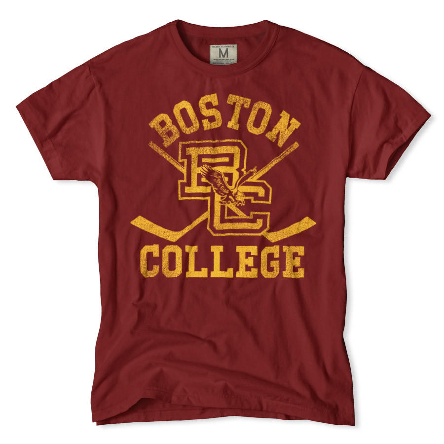 Boston college hockey t shirt from tailgate clothing march for Best hockey t shirts