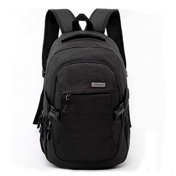 ASDS Laptop Backpack with Usb Charging Port Business Water Resistant Polyester and Notebook Bag