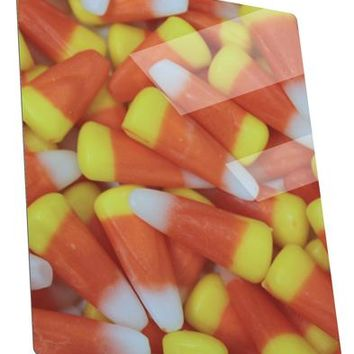 Candy Corn Metal Panel Wall Art Portrait - Choose Size by TooLoud