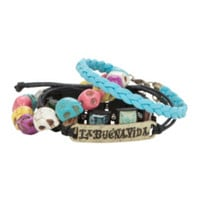 The Book Of Life Skull Bracelet 4 Pack