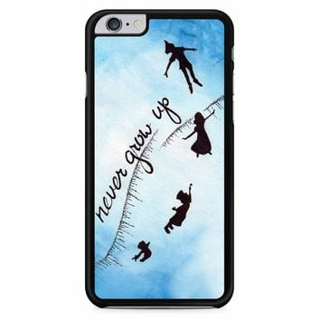 Peter Pan Never Grow Up 2 iPhone 6 Plus / 6s Plus Case