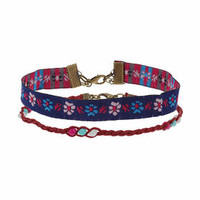 Fabric Anklet Pack - Multi