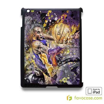 KOBE BRYANT Black Mamba LA Lakers iPad 2 3 4 5 Air Mini Case Cover