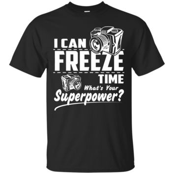 I Can Freeze Time What's Your Superpower