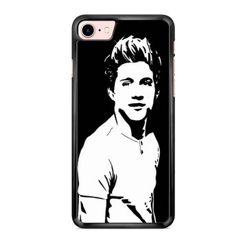 Niall Horan Popart Black White iPhone 7 Case