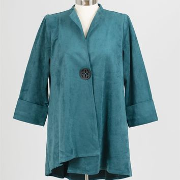 IC Collection 1945J Faux Suede Jacket