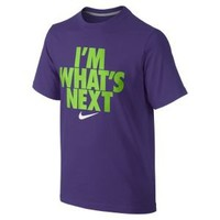 "Nike Store. Nike ""I'm What's Next"" Boys' T-Shirt"