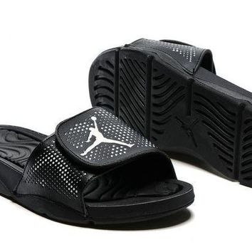 Nike Jordan Hydro V Retro Black Sandal Sandals Slipper Shoes Size US 7-11