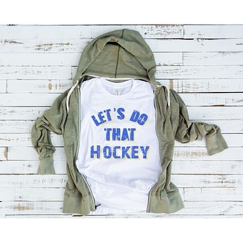 Let's Do That Hockey Unisex Jersey Short-Sleeve T-Shirt