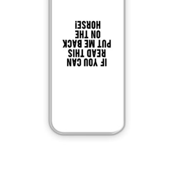 Equestrian Funny Horse - iPhone 5&5s Case