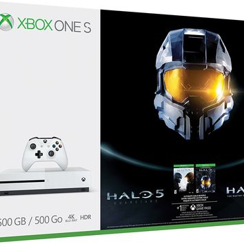 Xbox One 500 GB Ultimate Halo Master Chief Collection Game Bundle - Limited Gold