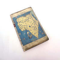 Africa Travel Journal - Antique Map Notebook - Travel Log - African Adventure Diary