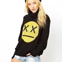 Wildfox | Wildfox 90'S Face Seattle Sweater at ASOS